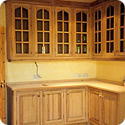 Hand made solid wood kitchen